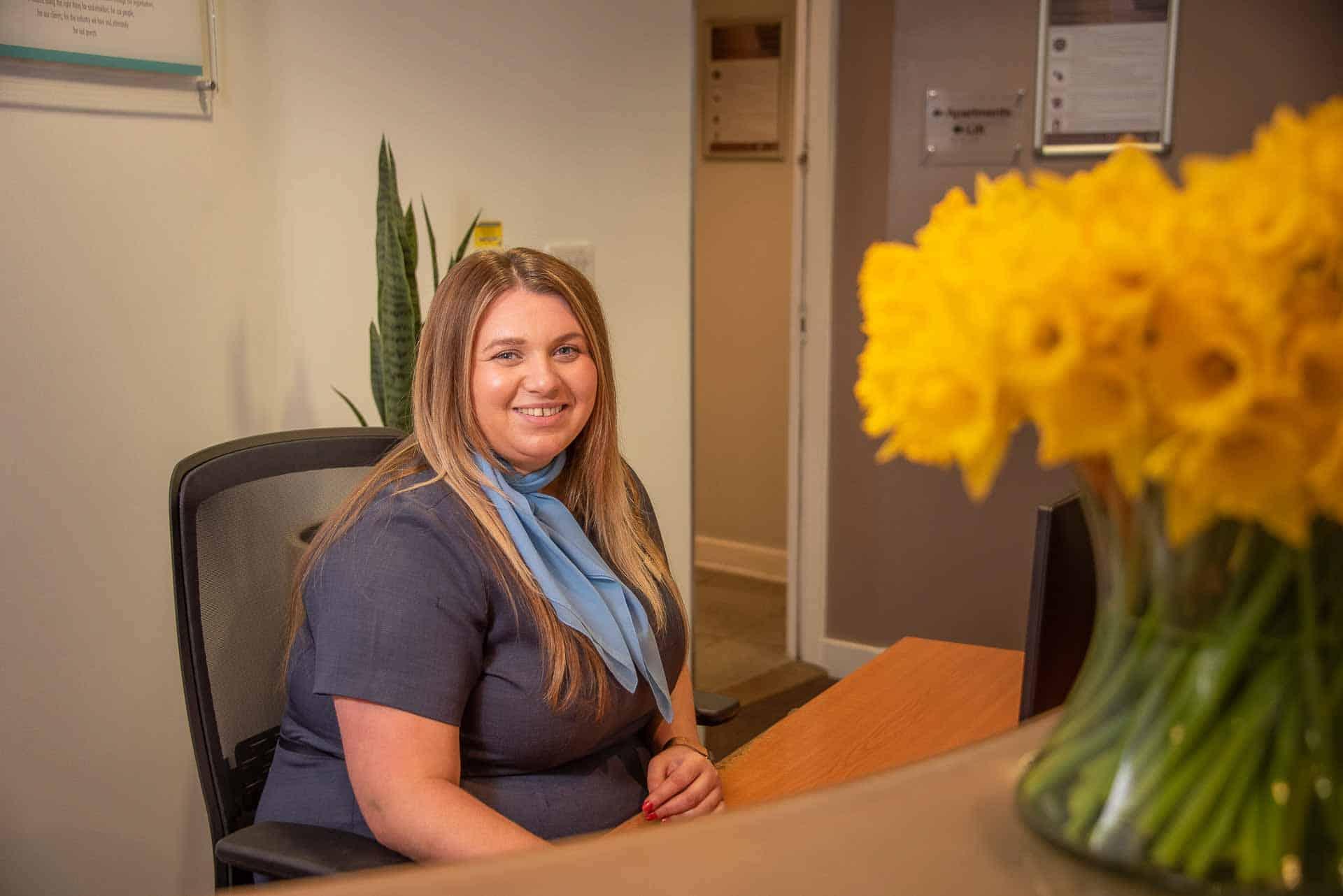Laura Corrigan, directrice des opérations chez PREMIER SUITES Liverpool