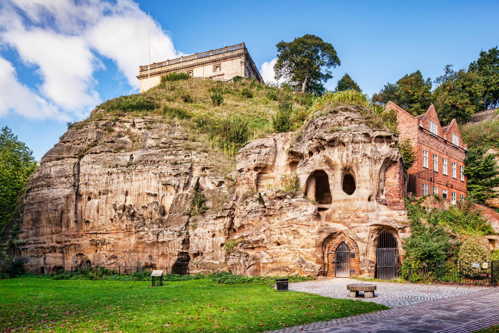 Nottingham,  England, UK - Nottingham Caves.