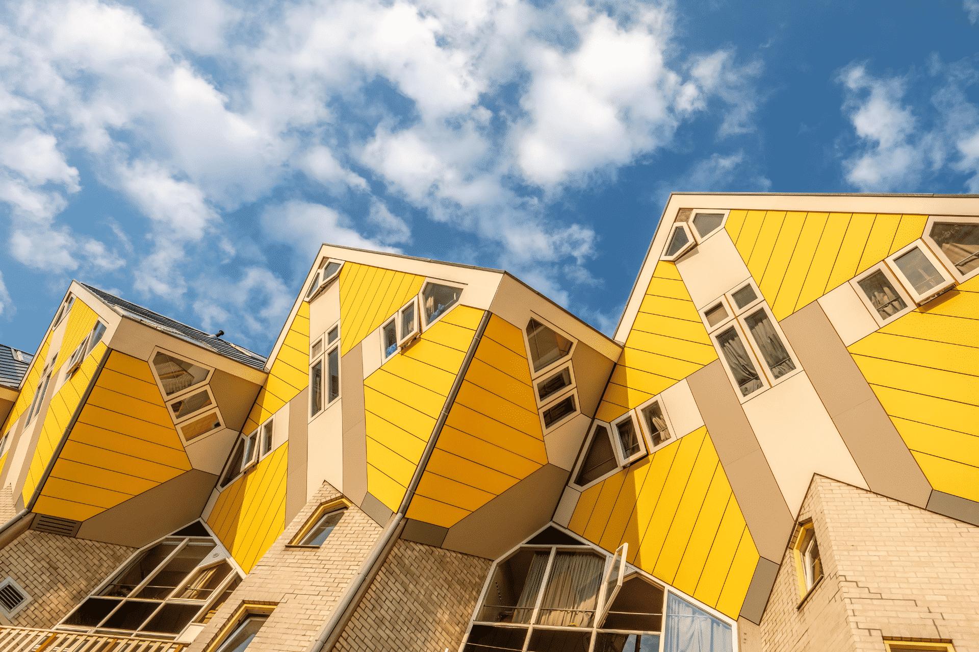 Rotterdam De Kubus huizen