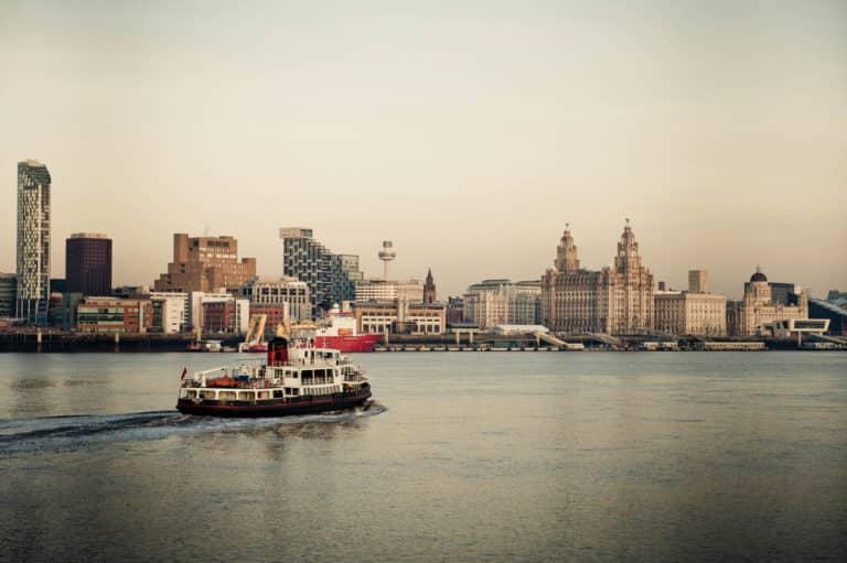 Mersey Ferries Across Liverpool