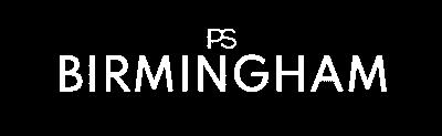 PREMIER SUITES Birmingham Wit Logo