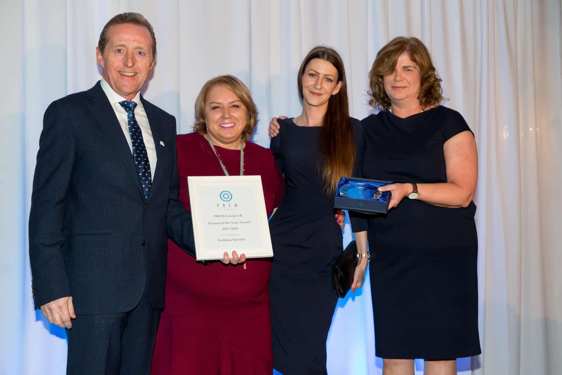 PREMIER SUITES Birmingham wint PREM Group's Engage Award