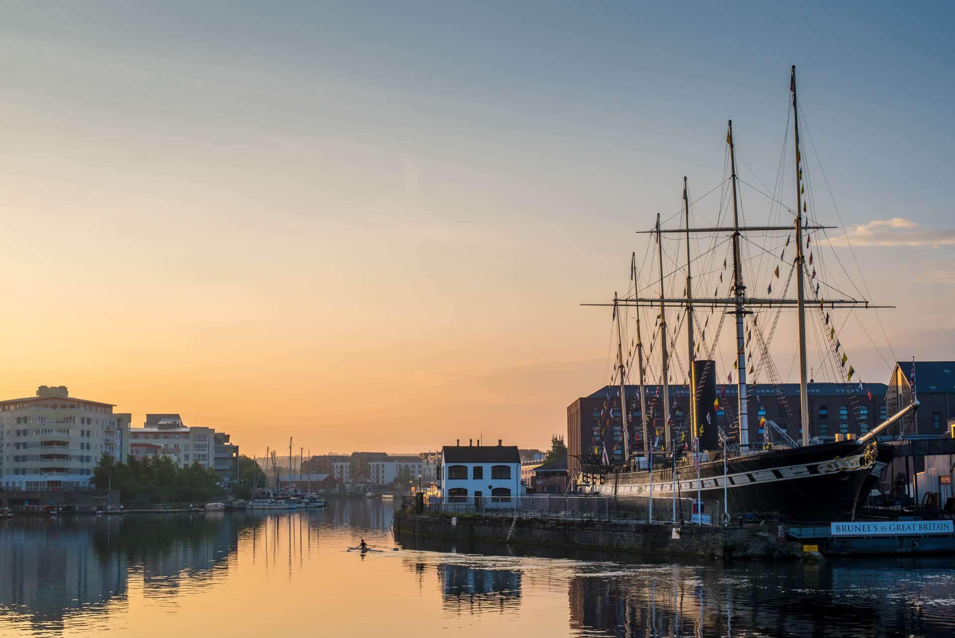 SS Great Britain in Bristol Docks