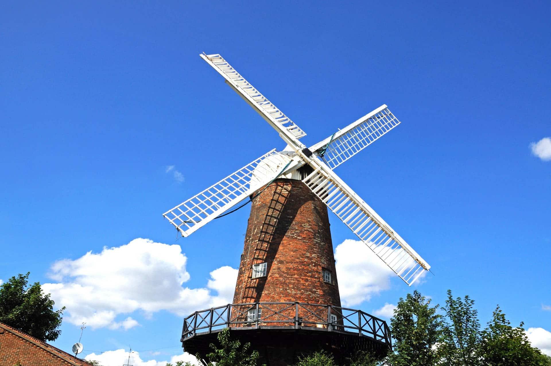 Windmill in Nottingham, United Kingdom