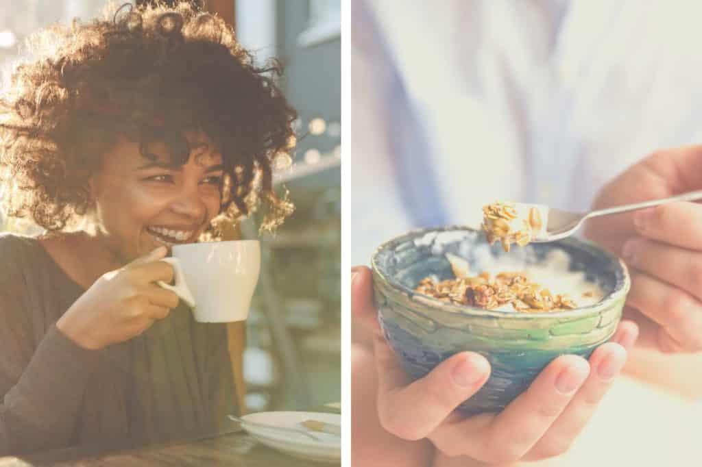 Frühstück im PREMIER SUITES