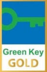 Grüner Schlüssel Gold