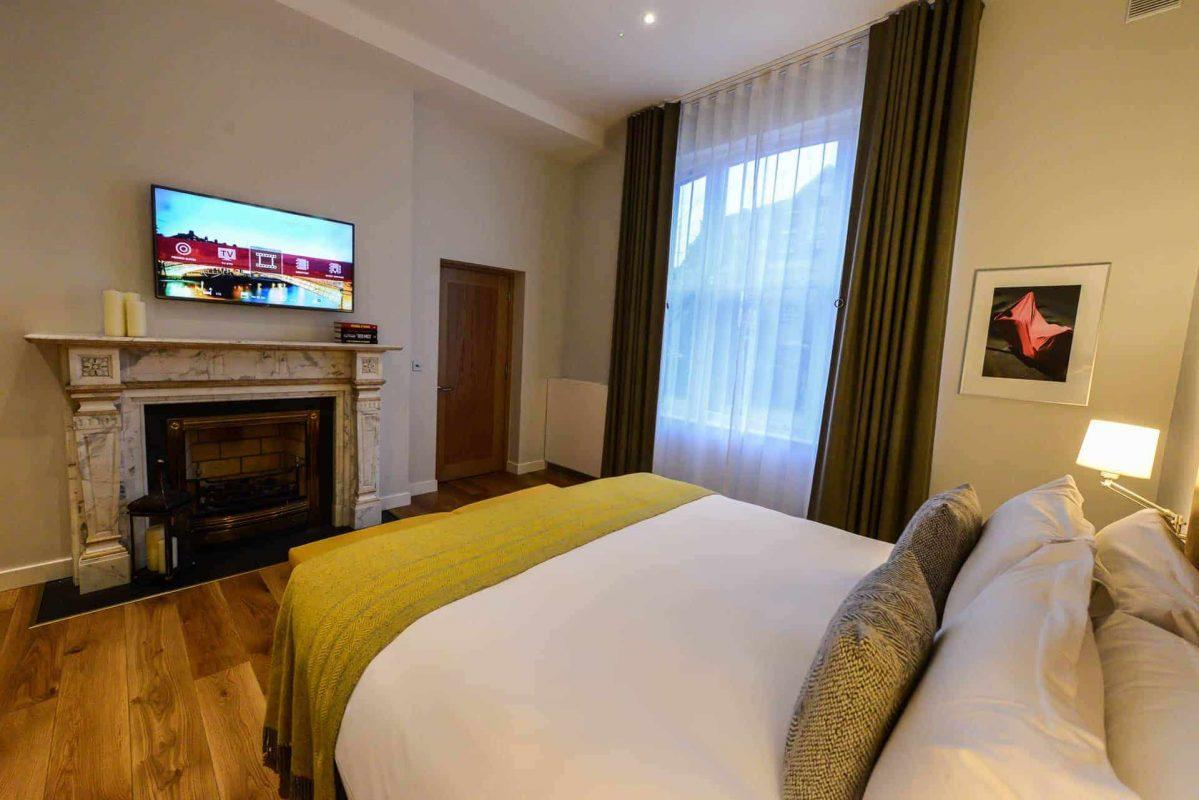 Merrion suite bedroom tv