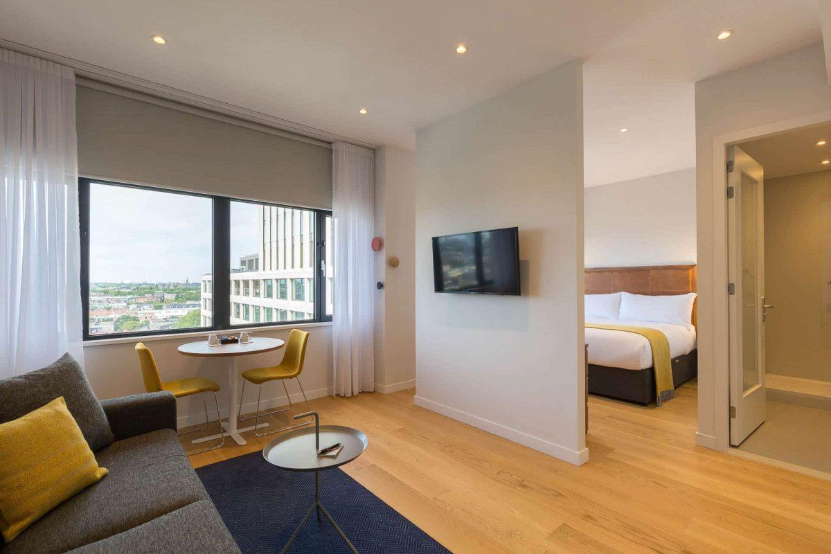 Ein-Schlafzimmer-Apartment Übersicht PREMIER SUITES PLUS Rotterdam