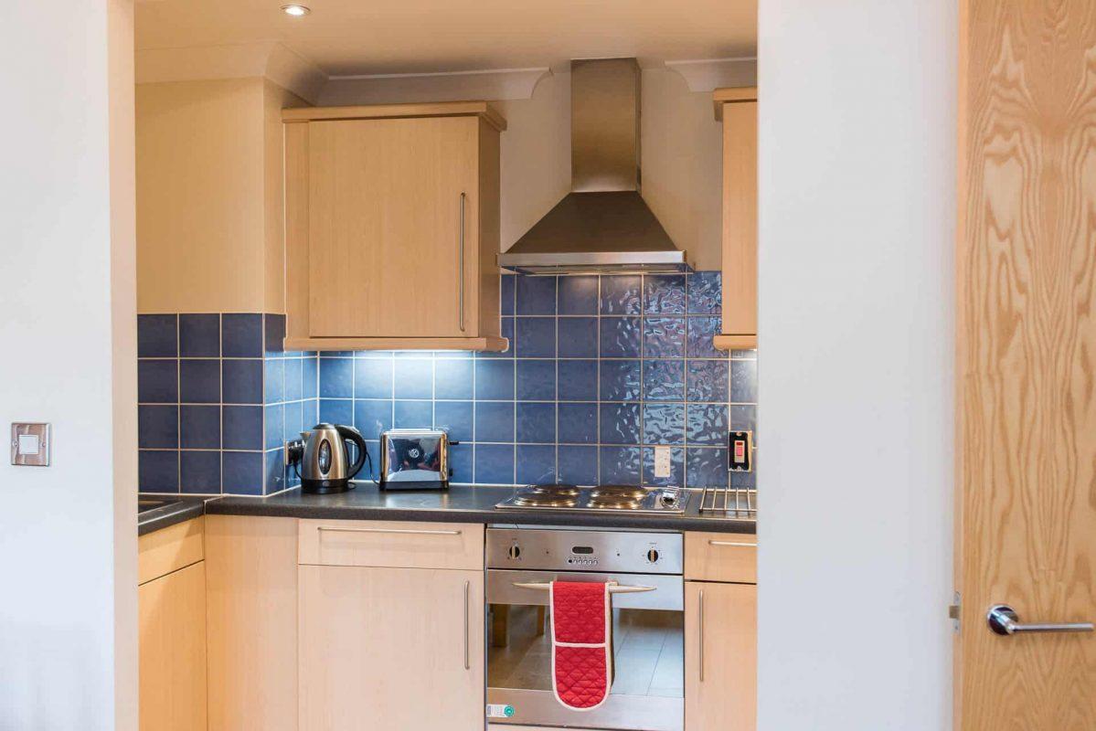 PREMIER SUITES Bristol Redcliffe kitchen