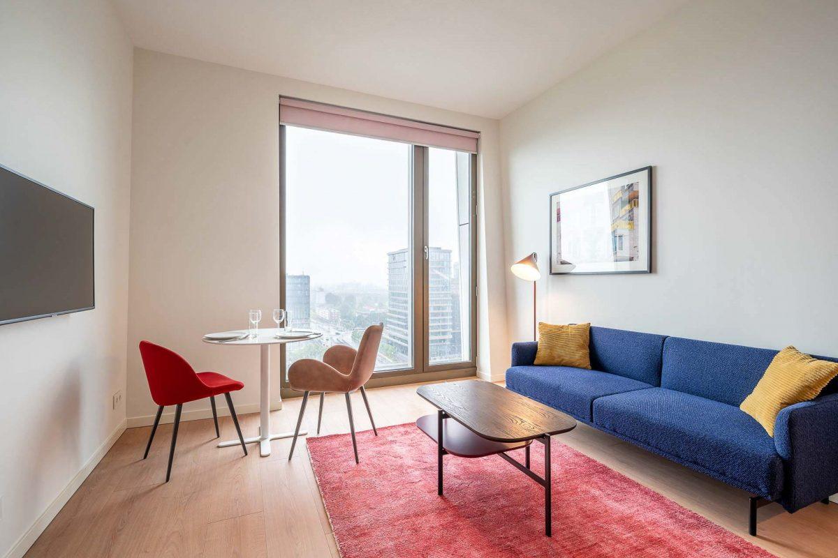 PREMIER SUITES PLUS Amsterdam Loft Living Area