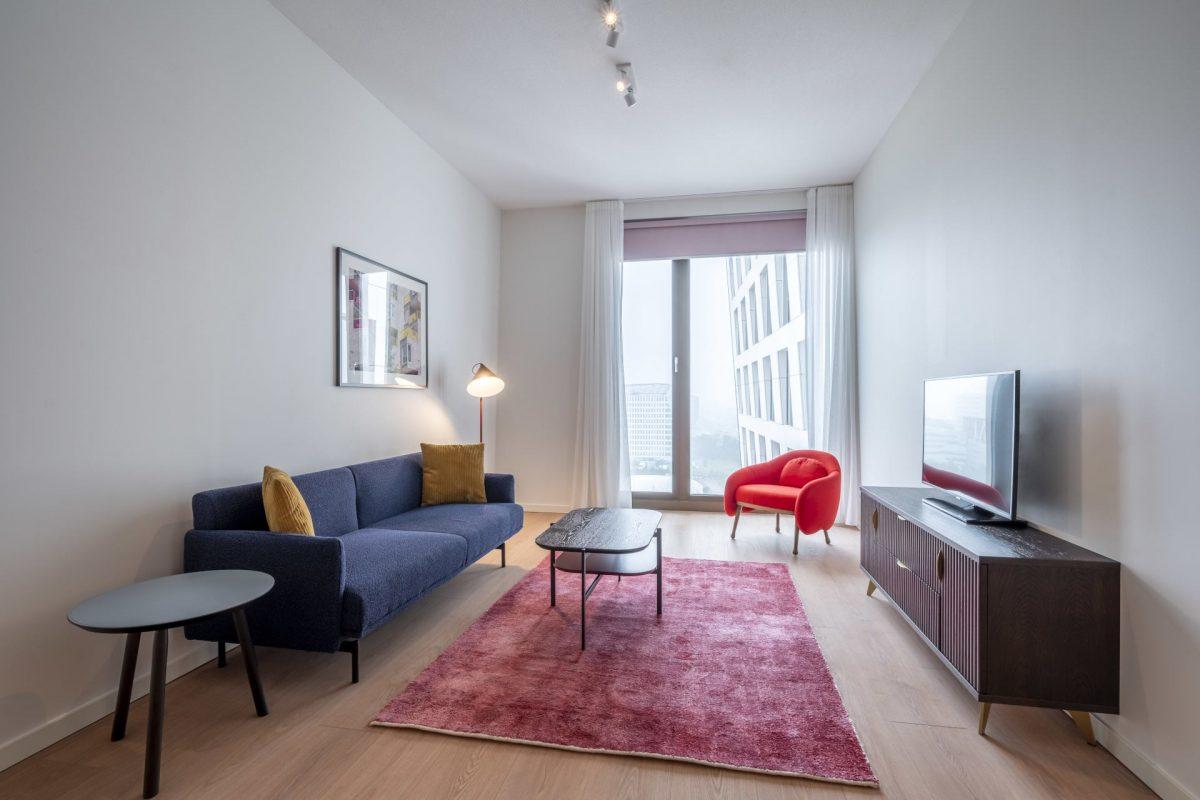 PREMIER SUITES PLUS Amsterdam XL Loft Living Area