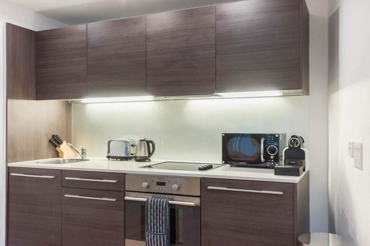 PREMIER SUITES PLUS Bristol Cabot Circus modern kitchen