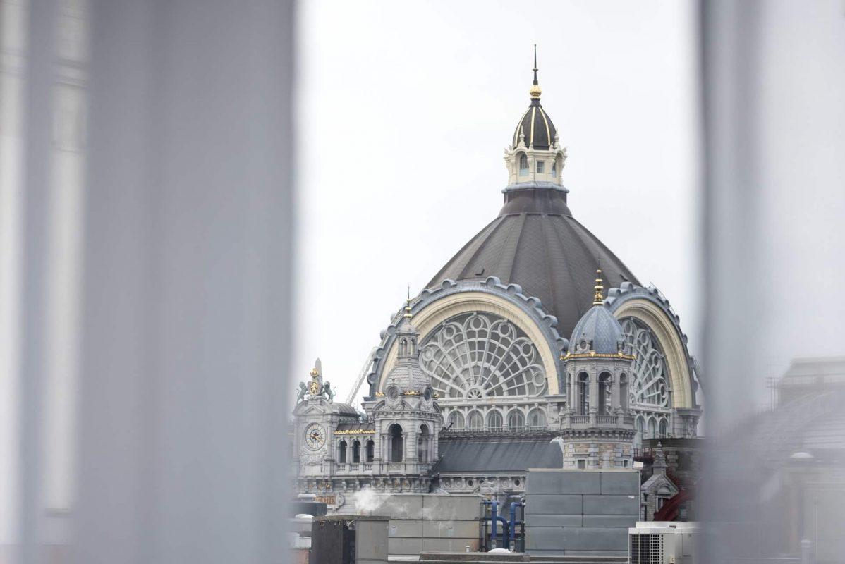 PREMIER SUITES PLUS Antwerp Penthouse Studio view central station